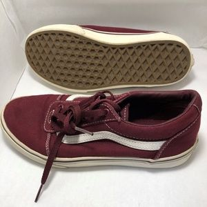 Vans Youth Off The Wall Canvas Shoe Size 4